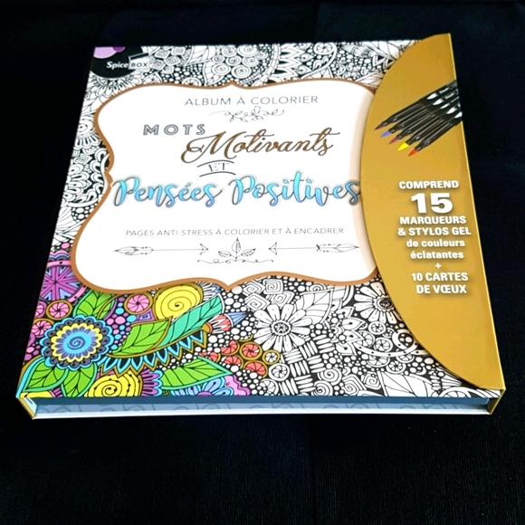 70 pcs Tablette d'art pour colorier et cartes